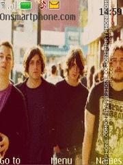 Arctic Monkeys theme screenshot