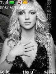 Britney Spears 25 theme screenshot