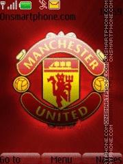 Man United 2011 theme screenshot