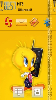 Tweety 17 theme screenshot