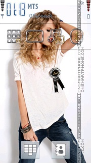 Taylor Swift 03 theme screenshot