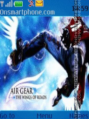 Air Gear 1 theme screenshot