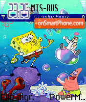 SpongeBob theme screenshot