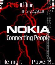 Nokia Electro Red es el tema de pantalla