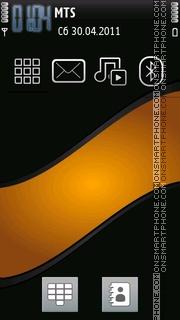 Glossy Wave Design theme screenshot