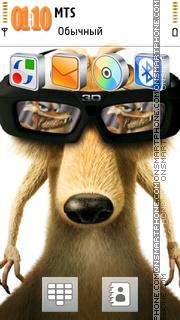 Ice Age Scrat 01 es el tema de pantalla