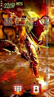 Dancer Boy theme screenshot