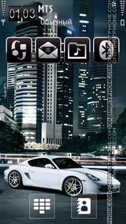 Porsche 03 theme screenshot