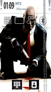 Hitman 10 theme screenshot