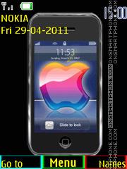 Capture d'écran Iphone 10 thème