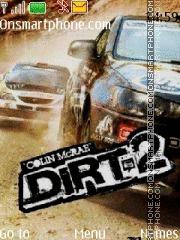 Dirt 2 01 es el tema de pantalla