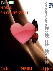 Butterfly on P**** es el tema de pantalla