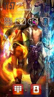 Naruto Vs Sasuke 08 theme screenshot