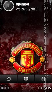 Man utd champions league final 2011 theme screenshot