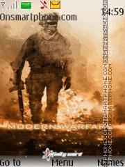 Call of Duty Modern Warfare 2 theme screenshot