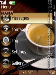 Captchino CLK theme screenshot