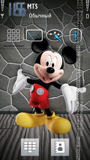 Mickey Mouse 16 theme screenshot