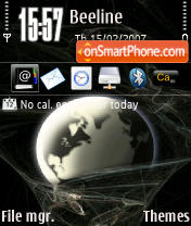 Earth 73 theme screenshot