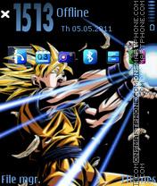 Goku DBZ theme screenshot
