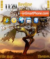 Lovers Tree 352 es el tema de pantalla