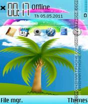 Rainbows 01 es el tema de pantalla