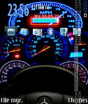 Speedometer 03 es el tema de pantalla