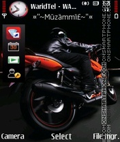 Nice Bike 04 theme screenshot