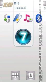Windows 7 White 01 es el tema de pantalla