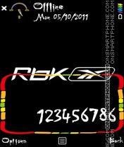 RBK theme screenshot