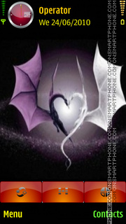 Dragon heart theme screenshot