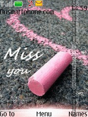 Miss You 09 theme screenshot