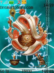 Lord Ganesh 05 theme screenshot