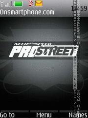 NFS Pro Street 09 theme screenshot