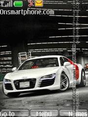Audi R8 28 theme screenshot