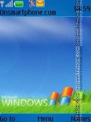 Windows es el tema de pantalla