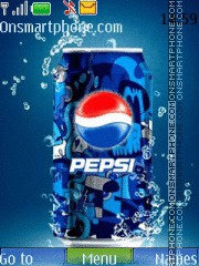 Pepsi Live theme screenshot