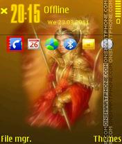 Samurai 05 theme screenshot
