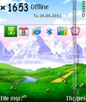 Valley 03 theme screenshot