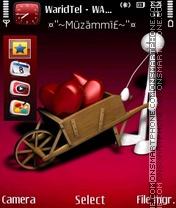Love Hearts 07 es el tema de pantalla