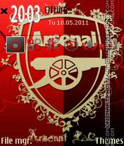 Arsenal Fc 03 theme screenshot