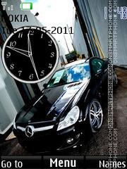 Black Mercedes 02 theme screenshot