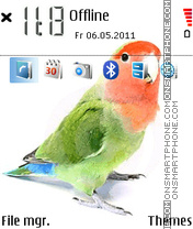 Parrot 07 theme screenshot