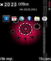 Sun flower 02 es el tema de pantalla