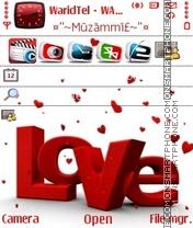 Love 10 es el tema de pantalla