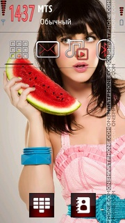 Katy Perry Cute theme screenshot