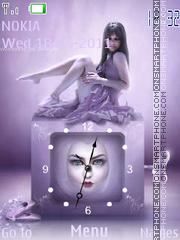 Girl Clock es el tema de pantalla