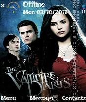 Vampire dairies es el tema de pantalla