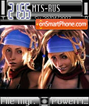 Rikku es el tema de pantalla