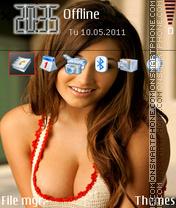 Hot Babe 2014 theme screenshot
