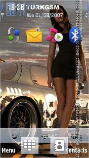 Street Girl theme screenshot